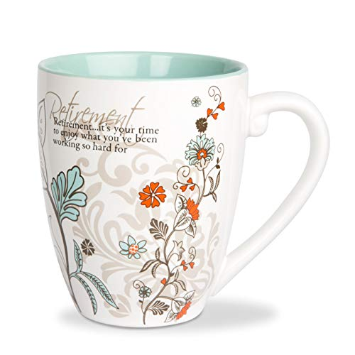 (Pavilion Mark My Words Retirement Mug, 20-Ounce,)