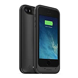 mophie juice pack Plus for iPhone 5/5s/5se (2,100mAh) - Black