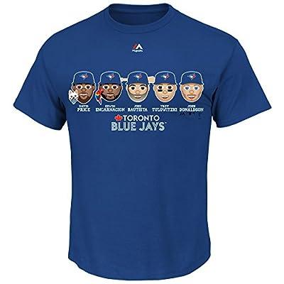 Toronto Blue Jays MLB Men's Team Emoji Graphic T-Shirt (XXlarge)