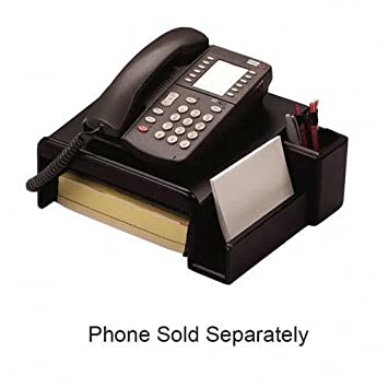 Captivating Rolodex Corporation ROL62538 Phone Stand  Wood  Black