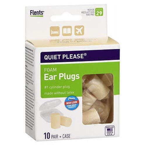 Flents Quiet! Please Foam Ear Plugs #F408-150 10 Pairs ( Pack of 3 )