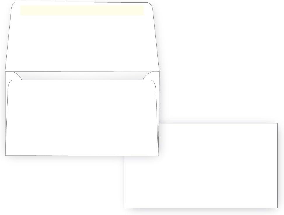 24# White Box of 500 3 5//8 x 6 1//2 Wallet Flap #6 3//4 Remittance Envelope