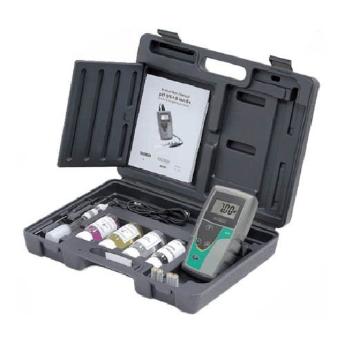 Oakton WD-35613-54 pH 5+ Handheld Meter Kit with Case, Solutions, pH/ATC - Handheld Meters