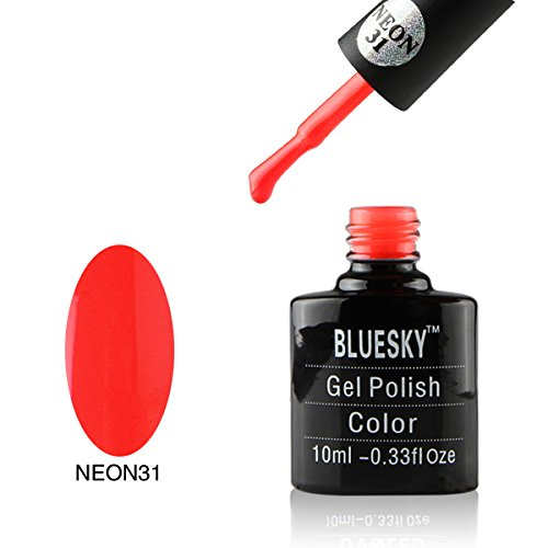 Bluesky Number 31 Gel Polish, Neon 10 ml BLUNEON31