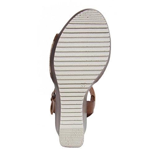 Chaussures compensées pour Femme CUMBIA 30158 BEIG