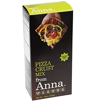 Pizza Crust Mix, Breads from Anna, Gluten soy rice corn dairy and nut free, 16 oz