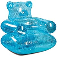 Justice For Girls Gummy Bear Inflatable Chair Blue