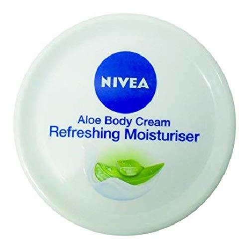Nivea Aloe Body Cream Refreshing Moisturiser 50 ML - - Aloe 50%