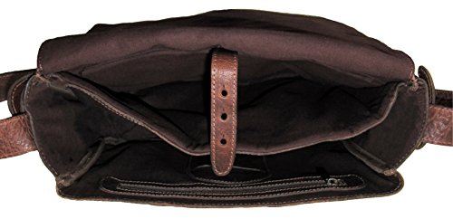 Umhängetasche Businesstasche Schultertasche Laptoptasche Freizeittasche Aktentasche aus Leder für Damen und Herren - stadthimmel Hamburg