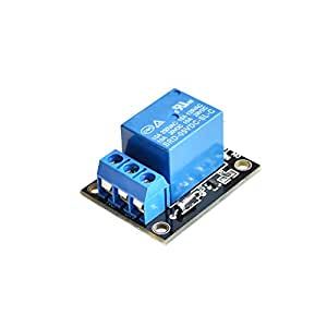 Tolako 5v Relay Module for Arduino ARM PIC AVR MCU 5V Indicator Light LED 1 Channel Relay Module Works with Official Arduino Boards