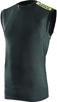 Black//Hi-Viz, X-Small//Small EVS Sports Unisex-Adult Tug CTR Vest