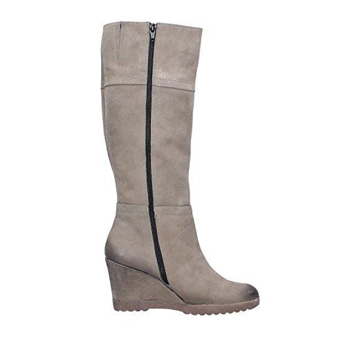 Mujer Cuero 38 EU Zapatos Botas Beige AJ120 KEYS dYnAZwqI