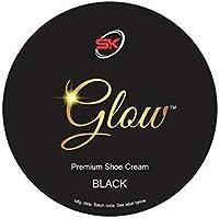 Glow Premium Shoe Polish Cream (Black)
