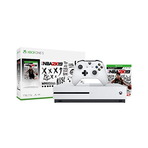Xbox One S 1TB Console - NBA 2K19 Bundle (Discontinued) 2