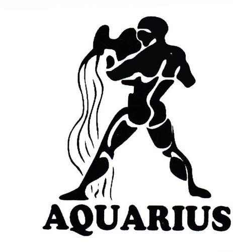 Aquarius Zodiac Sign Tattoos