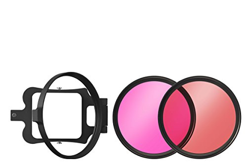 (B+W 58mm Underwater Set for GoPro Camera Lens Filters Underwater Kit Camera Lens Filter Set, Red/Magenta (65-1089604))