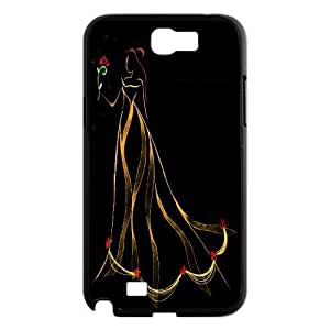 James-Bagg Phone case Beauty And The Beast Pattern Design For Case Samsung Note 4 Cover Style-13