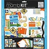 me & my BIG ideas Scrapbook Page Kit, Explore Road Trip, 12-Inch by 12-Inch