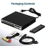 DVD Player for TV, HD DVD/CD Player with HDMI AV