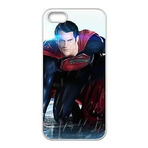 iPhone 5 5s Cell Phone Case White Superman APB DIY Plastic Case