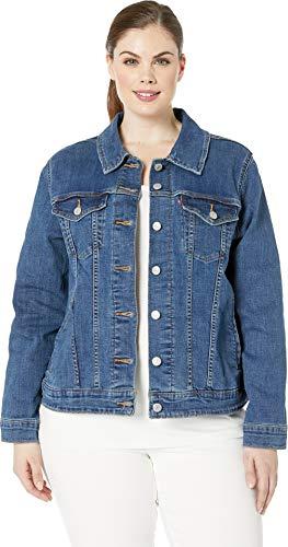 (Levi's Women's Plus-Size Original Trucker Jackets, lola 3 X)