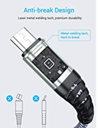 Ainope - Cable micro USB (2 unidades)