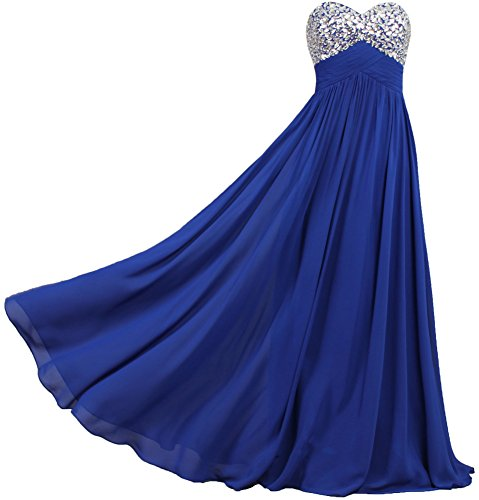 ANTS Formal Crystal Chiffon Prom Dresses Long Evening Gowns Size 10 US Black