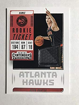 2018-19 Panini Contenders Rookie Ticket Swatches Basketball Kevin Huerter  Jersey Relic Atlanta Hawks 955f5db9c