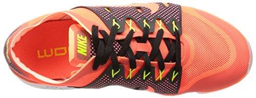 Nike Femmes Air Zoom Fit Agilité 2 Chaussures De Course 806472 Sneakers Chaussures Hyper Orange / Hyper Orange-sunset Glow-volt