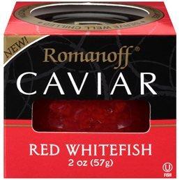Romanoff Caviar, Red Whitefish 2oz