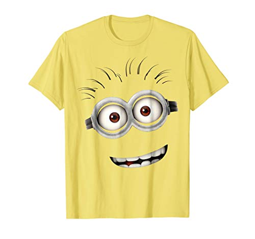 Despicable Me Minions Bob Smiling Face Graphic T-Shirt