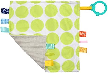 3  Designs Bright Starts Taggies Little Taggies// Comfort Blanket