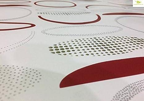 Nappe toile cir/ée PVC sur mesure Nappe pour tables int/érieures et ext/érieures 140x050cm, Benji 3 Tailles et motifs au choix MadeInNature/®