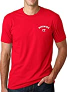 Bushwood Country Club T Shirt Funny Vintage Movie Shirts (Red)