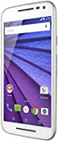 "Motorola Smartphone Moto G 3ra Generacion XT1543, 16GB, 5"", Doble Sim Desbloqueado, color blanco"