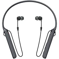 Sony WI-C400 In-Ear Wireless Bluetooth Headphones (Black) - Open Box