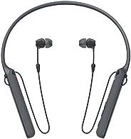 Sony–C400inalámbrico behind-neck en la oreja Auricular Negro (wic400/B), Negro