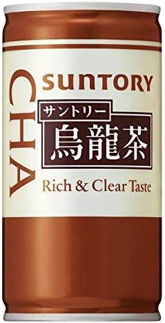 サントリー 烏龍茶 缶 190g×30本×(4ケース)