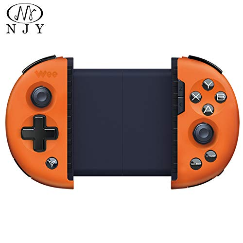 - NJY Mobile Game Controller, Wee 2T Somatosensory Telescopic Gamepad Plus Expander Supports Connecting Mouse and Keyboard (Basket Orange(English))