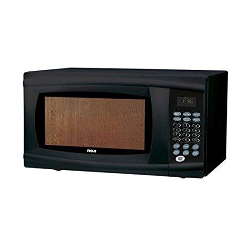 RCA 1.1 Cu Ft Microwave, Black Rmw1112-black
