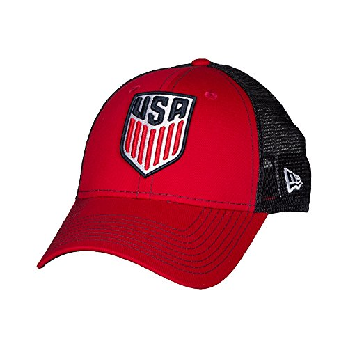 USA Soccer New Era 9Forty Bold Mesher Structured Adjustable Hat