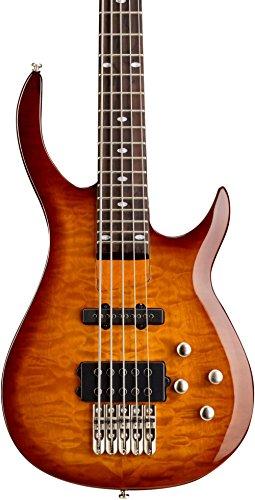 Rogue LX405 Series III Pro 5-String Electric Bass Guitar Sunset Burst