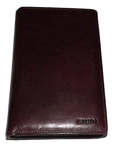 Giudi Italia Men's Tuscan Leather Breast Pocket Secretary Travel Wallet - Wallet Mens Secretary Breast