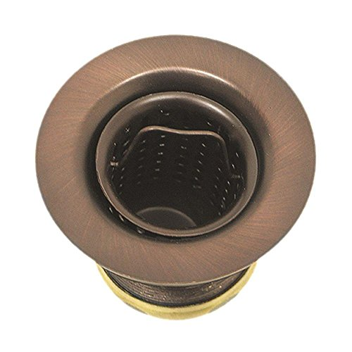 Westbrass Junior Basket Style Bar Sink Strainer, Antique Copper, D218-11 Antique Copper Plumbing Fittings