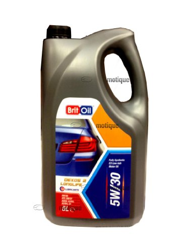 DAF FH12 INC ENGINE COVER BRITOIL LONG LIFE FULLY SYNTHETIC ENGINE OIL 5W30: