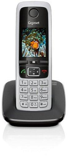Gigaset C430 Dect-Schnurlostelefon, schwarz