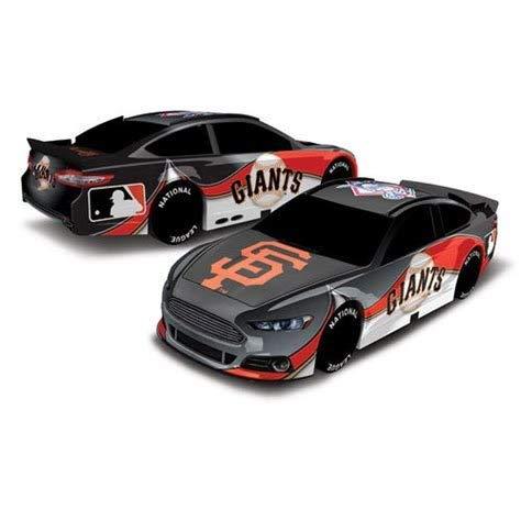 Baseball 1:18 Scale Racing Stock Car (Giants)]()