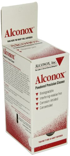 Alconox 1112 Powdered Precision Cleaner, 50-1/2 oz Packets (Case of 12) by Alconox