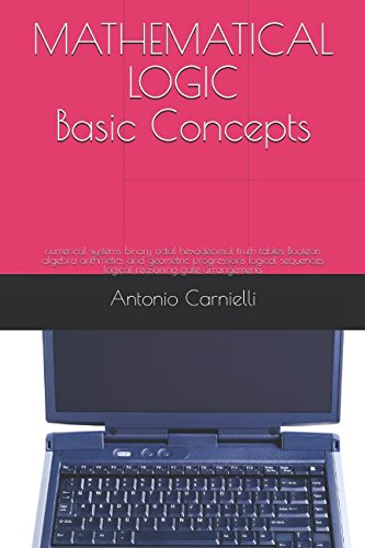 Download MATHEMATICAL LOGIC Basic Concepts: numerical systems binary octal hexadecimal truth tables Boolean algebra arithmetics and geometric progressions logical sequences logical reasoning gate arrangements pdf