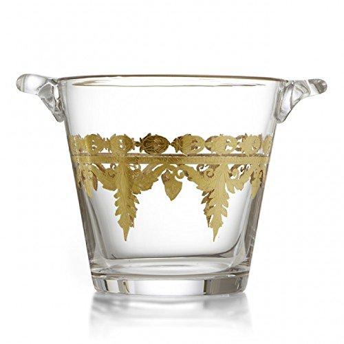 Arte Italica Home Vetro Gold Ice Bucket